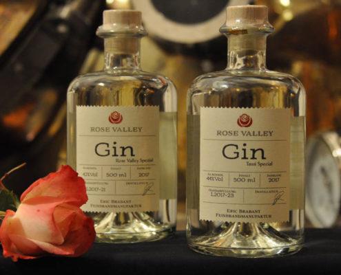 Gin aus der Feinbrandmanufaktur Eric Brabant, Marbach in Striegistal Obstbrände, Kräuterliköre, Gin und Whisky